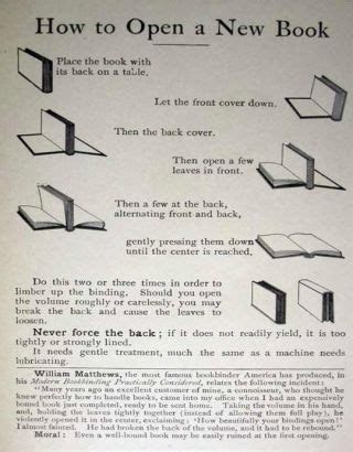 libro how to read the break in a hardcover book without ruining the spine