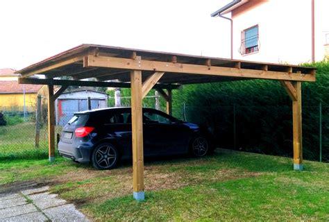 gazebo in legno per auto prezzi gazebo x auto in legno