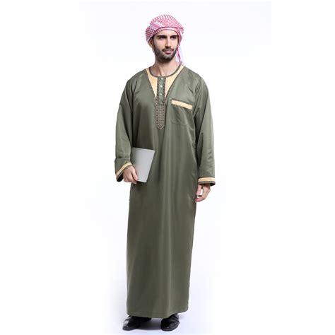 thobe jubba qatari collar arab mens dress islamic clothing