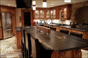 Tuscan Kitchen Table Black Granite Table Tuscan Kitchen Mediterranean Kitchen Milwaukee By Custom Marble