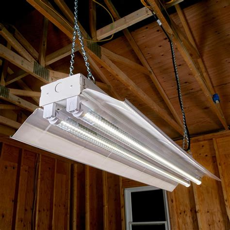 how to hang lights inside led lights for your workshop the family handyman