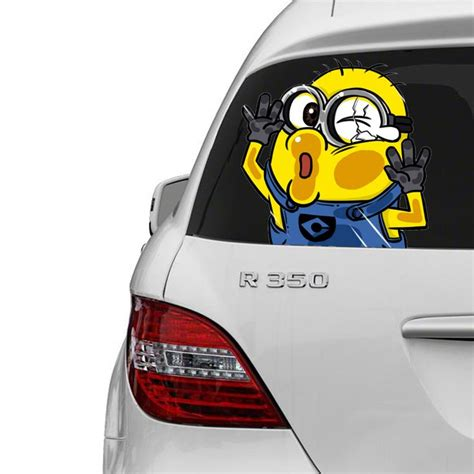 Lno Gift Series Minions minion trapped series for car humor stuff and humor