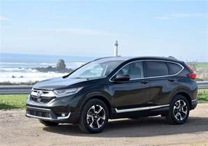 review honda first drive review 2017 honda cr v