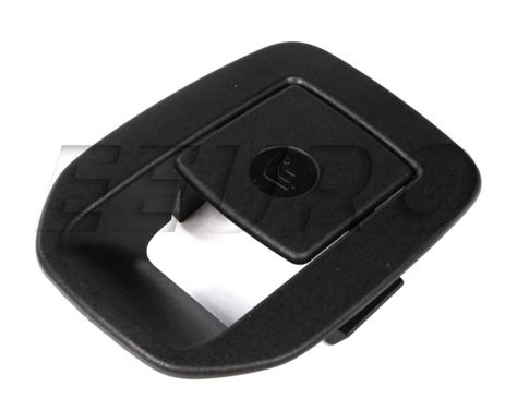 Latch Cover Black 52206970744 genuine bmw latch cover free shipping available