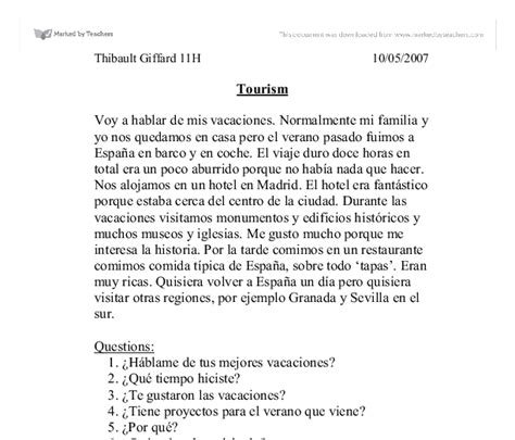 thesis literal translation spanish essay college homework help and online tutoring