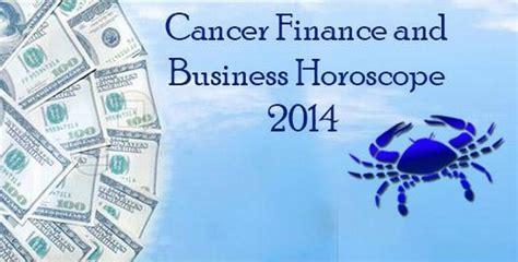 cancer finance horoscope 2014 cancer money horoscope