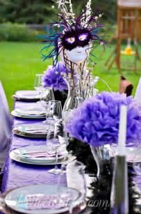 elegant outside table decor idea dinner party