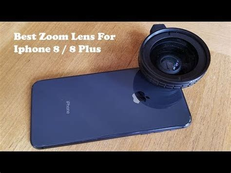 best zoom lens for iphone 8 iphone 8 plus fliptroniks