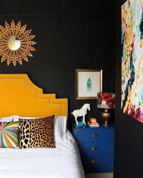 Prismatic Blue Pillow best 20 yellow headboard ideas on blue yellow