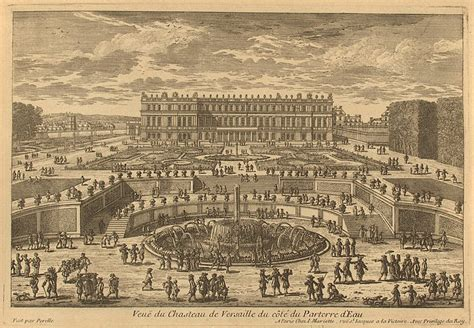 Versailles Floor Plan architectural drawings palace of versailles