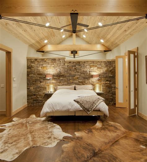 stone accent wall bedroom 19 elegant stone wall bedroom design ideas