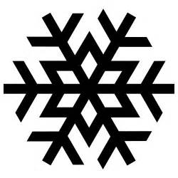 snowflake silhouette google search shapes line