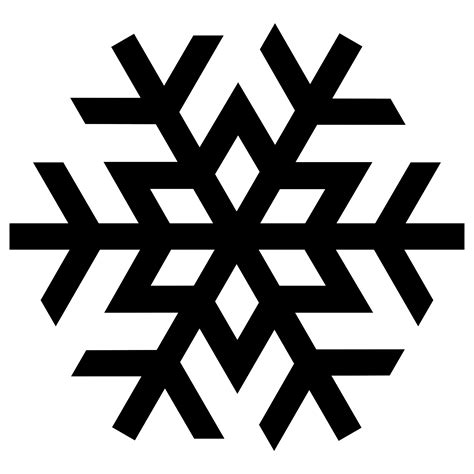google images of snowflakes snowflake silhouette google search shapes line
