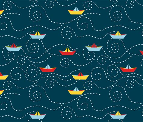 yacht pattern fabric paper s boat l fabric nadja petremand spoonflower