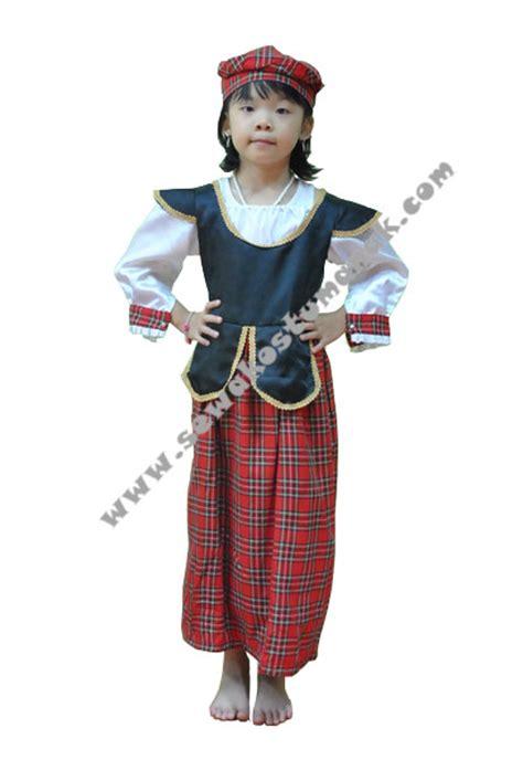 Baju Kostum Negara kostum negara scotlandia sewa kostum anak di jakarta