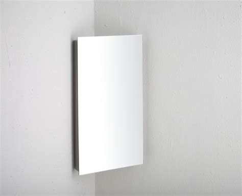 Cabinet Reims by Reims Corner Mirrored Bathroom Cabinet With Single Door