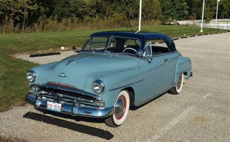 1951 plymouth coupe 1951 plymouth belvedere hardtop coupe