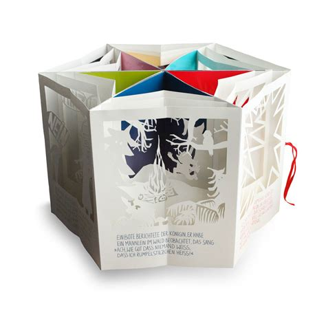 Felicitas Horstsch 228 Fer Graphic Design Illustration Book Design Carousel Pop Up Die Cut Templates