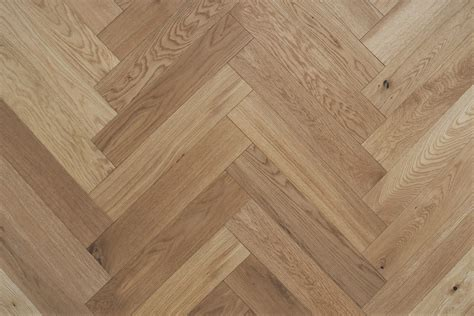 90mm Oak Herringbone UV oiled eng.   Floors   Real Wood