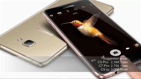 C Samsung Series by Samsung Galaxy C9 Pro Phone Specifications Galaxy C Series 2017