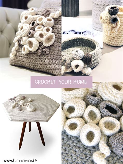 uncinetto casa crochet your home oggetti all uncinetto per una casa a