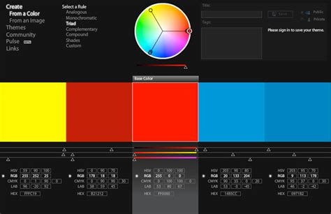 kuler color discover and create great color palettes with adobe s