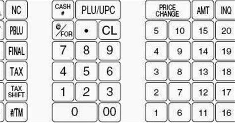 Samsung And Sam4s Cash Registers Sam4s Keyboard Templates To Create Your Own Overlays Sam4s Sps 520 Keyboard Template