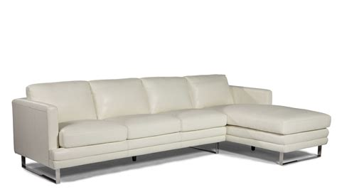 leather ottoman melbourne melbourne white raf leather sectional from lazzaro