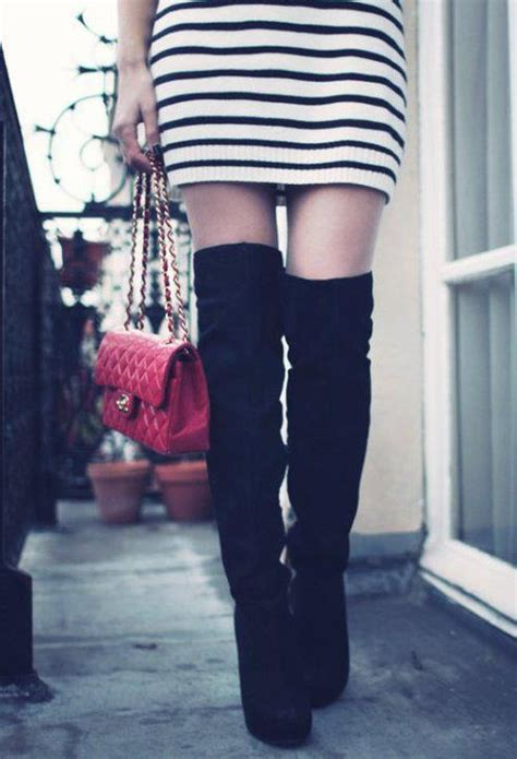 The Knee Boot Stylecrazy A Fashion Diary by 86 Best These Boots Are Made For Walking Images On