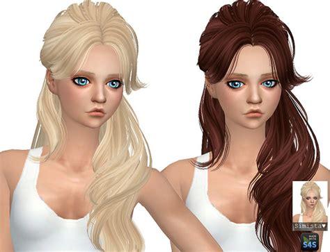 sims 4 custom content hairstyles skysims hair 068 retexture at simista 187 sims 4 updates