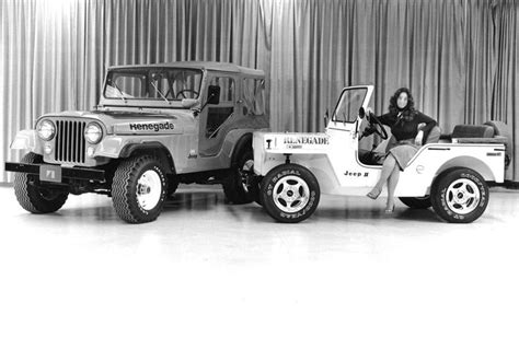 Jeep Ii 1973 jeep cj5 and renegade ii concept vehicle jeep