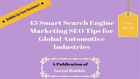 Smart Search Engine 45 Smart Search Engine Marketing Seo Tips For Global Automotive Indus