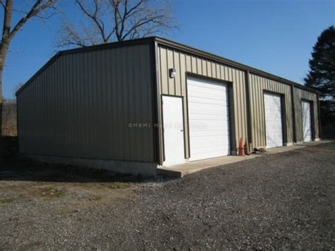 Steel Buildings Garage by Steel Garage Kit Photos Mbmi Metal Buildings