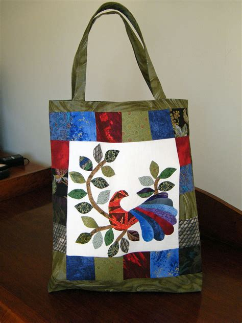 Patchwork Tote Bag - patchwork tote bag years ago i was of admiration