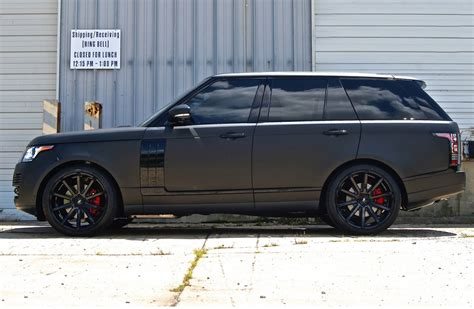 mercedes land rover matte black xo tokyo matte black staggered concave wheels mercedes