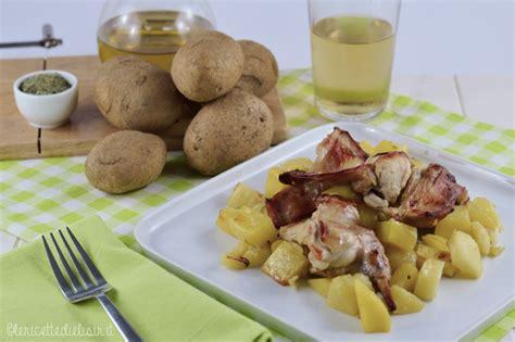 come cucinare il coniglio al forno con patate coniglio al forno con patate le ricette di elisir le