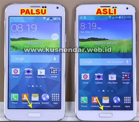 Hp Samsung Galaxy S5 Biru terbukti membedakan samsung galaxy s5 asli atau palsu