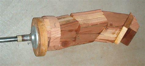wood lathe multicenter lathe statue  experimental test