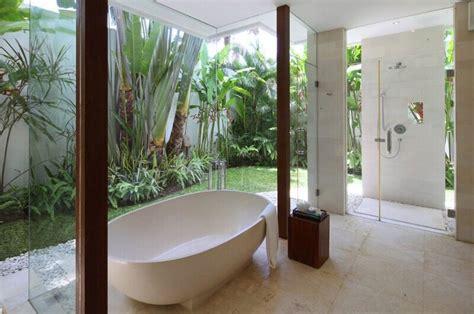 Outdoor Bathroom Rental by Villa Asante Canggu Bali Indonesia