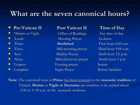 the hour of the the liturgy of the hours