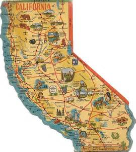 california map with tourist attractions eureka mendocino ukiah santa rosa napa oakland