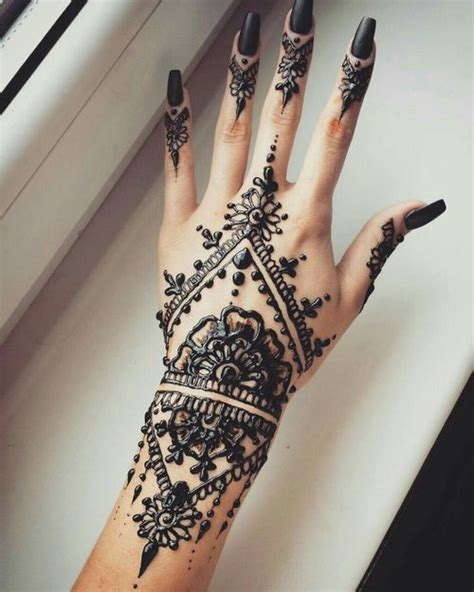 what is black henna tattoo best 10 black henna ideas on henna