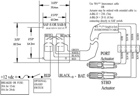 bennet trim tabs wiring diagram sailboat trim diagram