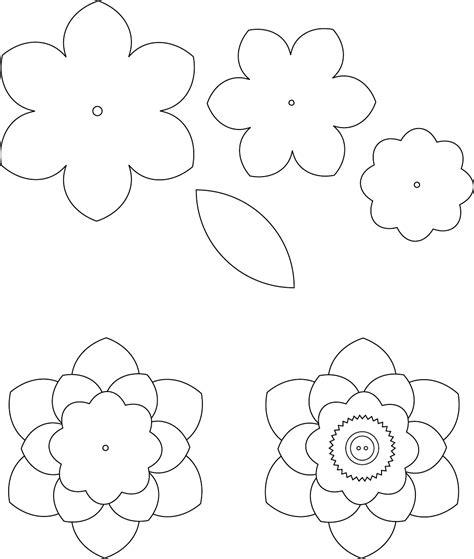 flower template  trafarety tsvety pinterest template