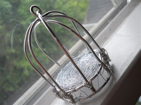 Bird On A Wire In A Cage Its All The Same by Wire Bird Cage 183 A Wire Model 183 Wirework And Wirework On