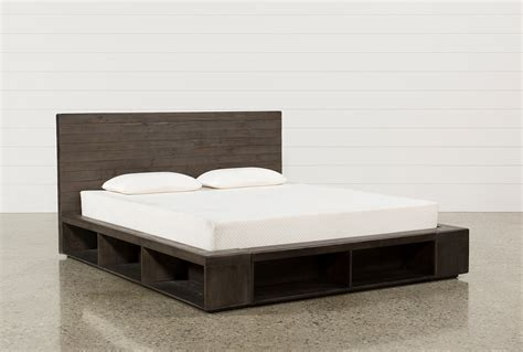 bed platform queen dylan queen platform bed living spaces