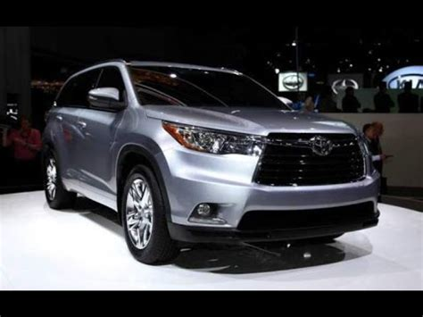 2018 toyota highlander : redesign, specs, changes, inte