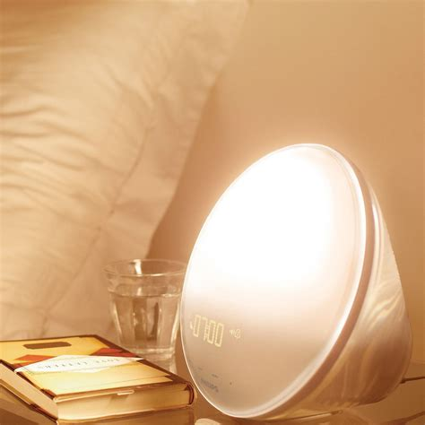 Philips Up Light With Colored Simulation by Philips Up Light With Colored Simulation For Waking The Green