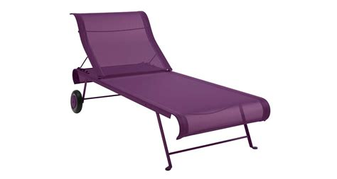 chaise longue fermob plaisir du jardin fermob chaise longue dune