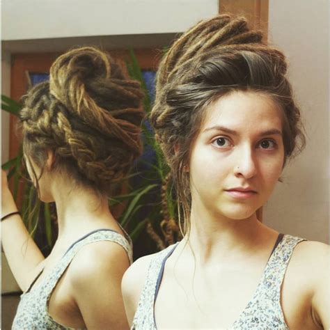 synthetic hair updo styles 354 best images about free form beauty dreads on pinterest